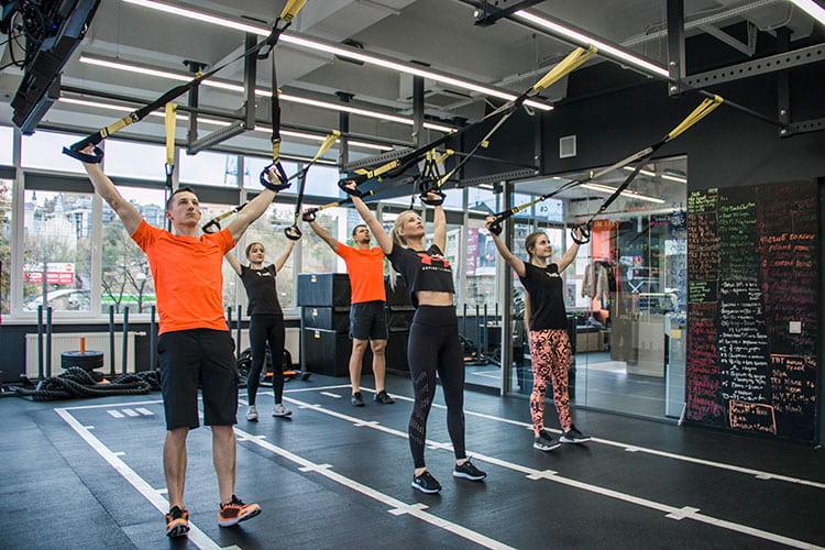 Тренировки с весом собственного тела