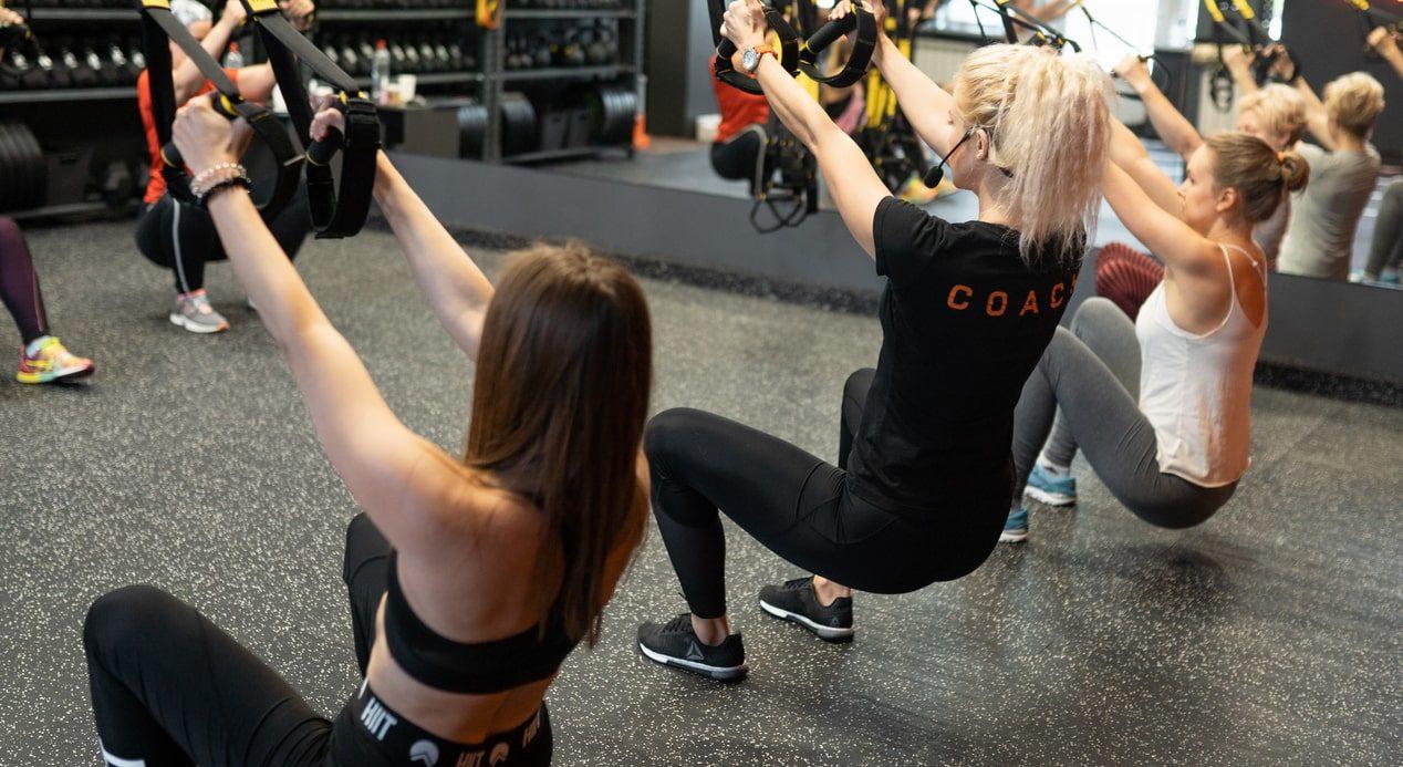 trx strong тренировка 1