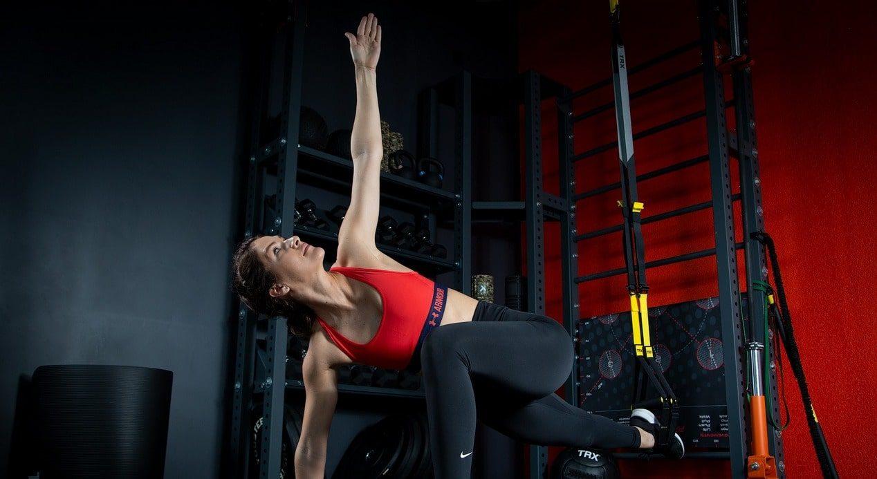 Тренировка йога фото 2