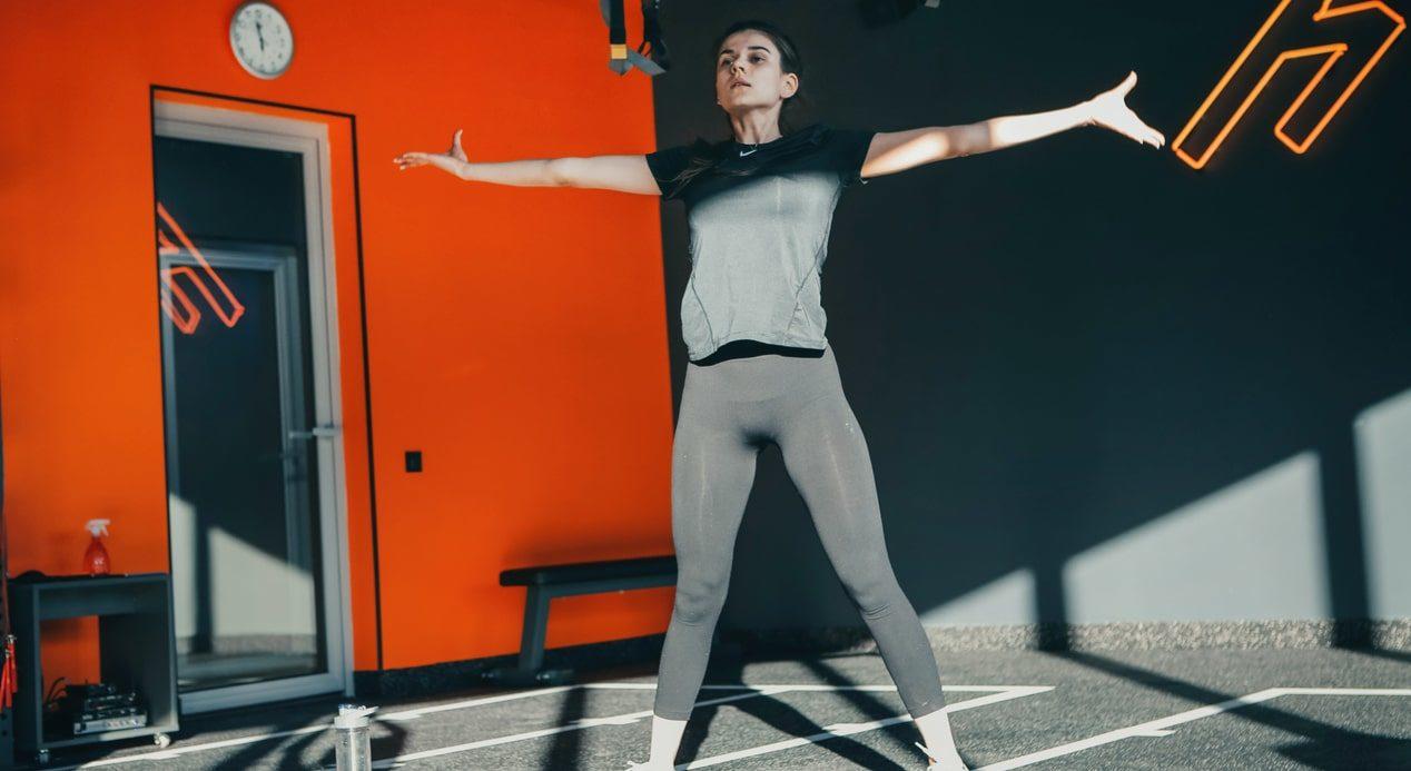 Тренировка йога фото 3